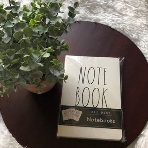 3 Rae Dunn Notebooks